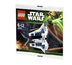 lego star wars mandalorian fighter poly