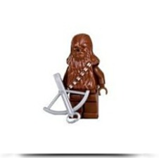 Chewbacca Star Wars 2 Figure With Crossbow