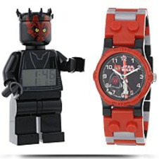 Kids 9000898 Star Wars Darth Maul Clock