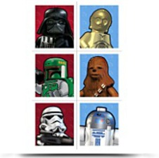 Lego Star Wars Sticker Sheets