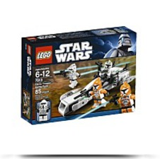 Discount Star Wars Clone Trooper Battle Pack 7913