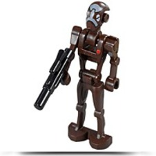 Discount Star Wars Commando Droid Captain Minifigure