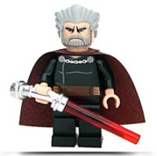 Star Wars Count Dooku Minifigure