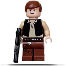 Discount Star Wars Han Solo Minifigure With Blaster
