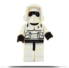 Discount Star Wars Loose Mini Figure Scout Trooper