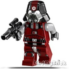 Star Wars Red Sith Trooper Minifigure