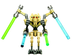 general grievous clone wars lego star