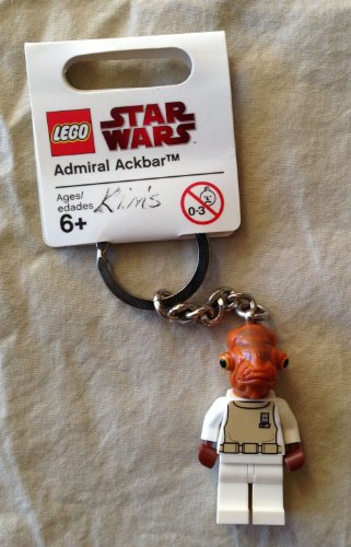 Star Wars Admiral Ackbar Key Chain