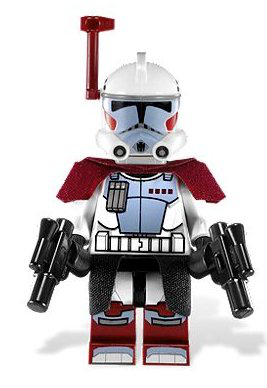 Elite Arc Trooper (2012) - Lego Star Wars Minifigure