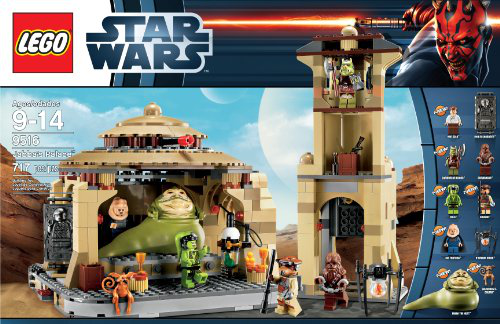 Star Wars 9516 Jabbas Palace